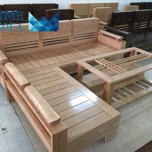 sofa go so nga tu nhien 300x300 - Sofa gỗ sồi nga tự nhiên