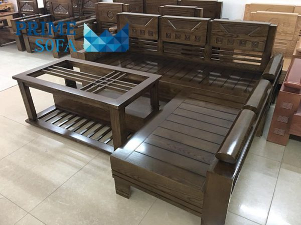 sofa go tu nhien PMS002 600x450 - Sofa gỗ tự nhiên PMS 002