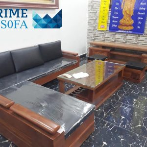 sofa go tu nhien boc da PMS001 300x300 - Sofa gỗ tự nhiên bọc da PMS 001