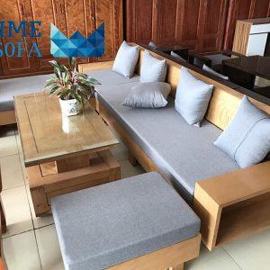 sofa go tu nhien boc ni PMS001 300x300 - Sofa gỗ tự nhiên bọc nỉ PMS 001