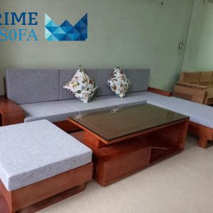 sofa go tu nhien boc ni PMS005 300x300 - Sofa gỗ tự nhiên bọc nỉ PMS 005
