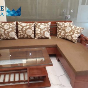 sofa go tu nhien boc ni PMS006 300x300 - Sofa gỗ tự nhiên bọc nỉ PMS 006