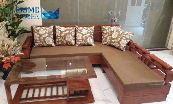 sofa go tu nhien boc ni PMS006 600x360 - Sofa gỗ tự nhiên bọc nỉ PMS 006
