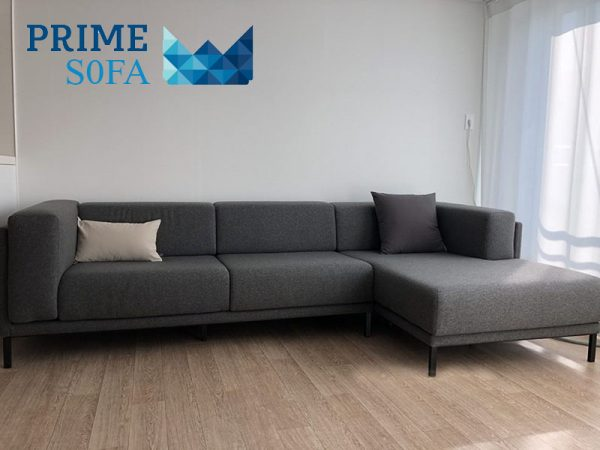sofa goc boc ni PMS002 600x450 - Sofa góc bọc nỉ PMS 002
