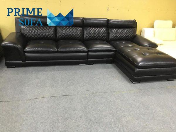 sofa goc chat lieu da PMS001 600x450 - Sofa góc chất liệu da PMS 001
