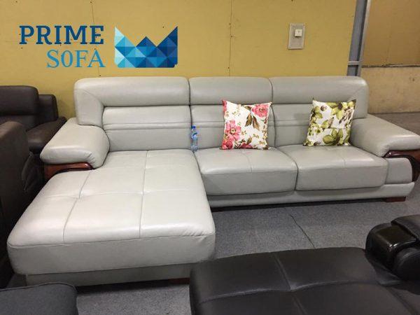 sofa goc chat lieu da PMS003 600x450 - Sofa góc chất liệu da PMS 003