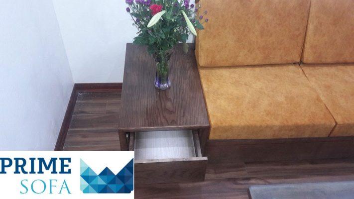 mau sofa go dep 711x400 - Bộ sofa gỗ 2.3m chị Thơm chung cư Tân Tây Đô