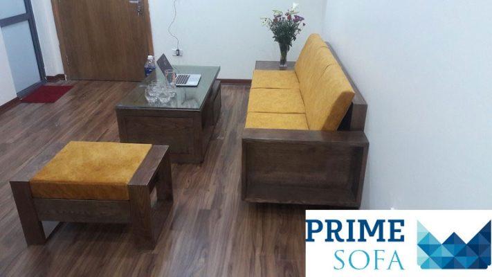 sofa go dep 5 711x400 - Bộ sofa gỗ 2.3m chị Thơm chung cư Tân Tây Đô