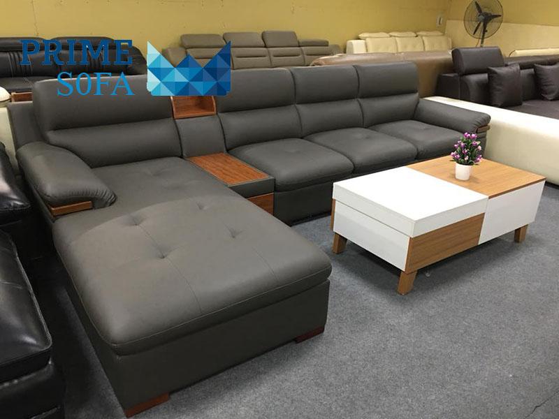 sofa da PMS005 - Trang chủ