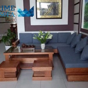 sofa go tu nhien boc ni PMS002 300x300 - Sofa gỗ tự nhiên bọc nỉ PMS 002