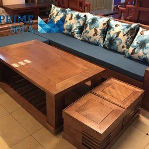 sofa go tu nhien boc ni PMS004 300x300 - Sofa gỗ tự nhiên bọc nỉ PMS 004