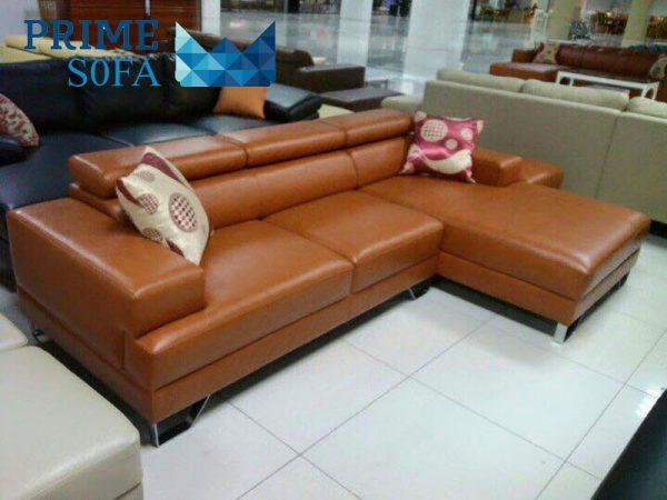 sofa goc chat lieu da PMS004 600x450 - Sofa góc chất liệu da PMS 004