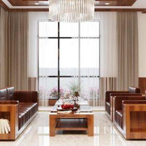sofa go dang cap 300x300 - Bộ sofa gỗ biệt thự anh Thắng - Kinh Môn, Hải Dương