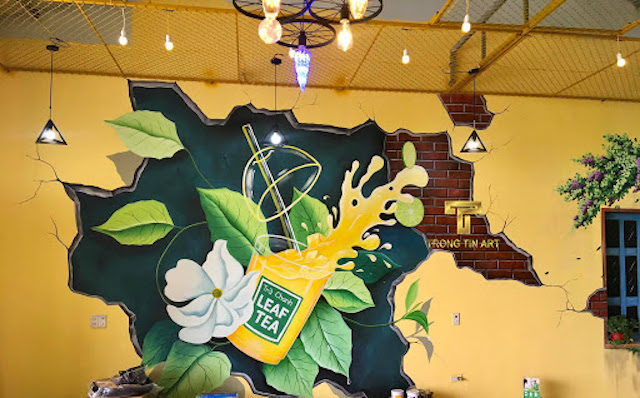 tranh tuong noithatprime0012 - Hoạ sĩ Vẽ tranh tường 3d phòng khách chuyên nghiệp