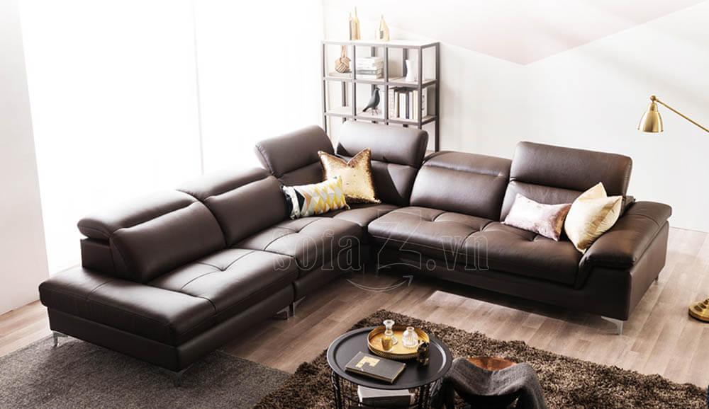 sofa goc boc da gat gu thong minh 8 1 - Sofa phòng khách GD460 - Sofa góc Couthie