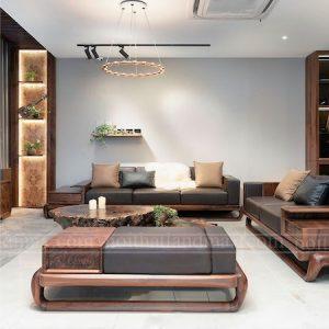 mau sofa go oc cho 300x300 - Sofa gỗ óc chó chung cư cao cấp Royal City