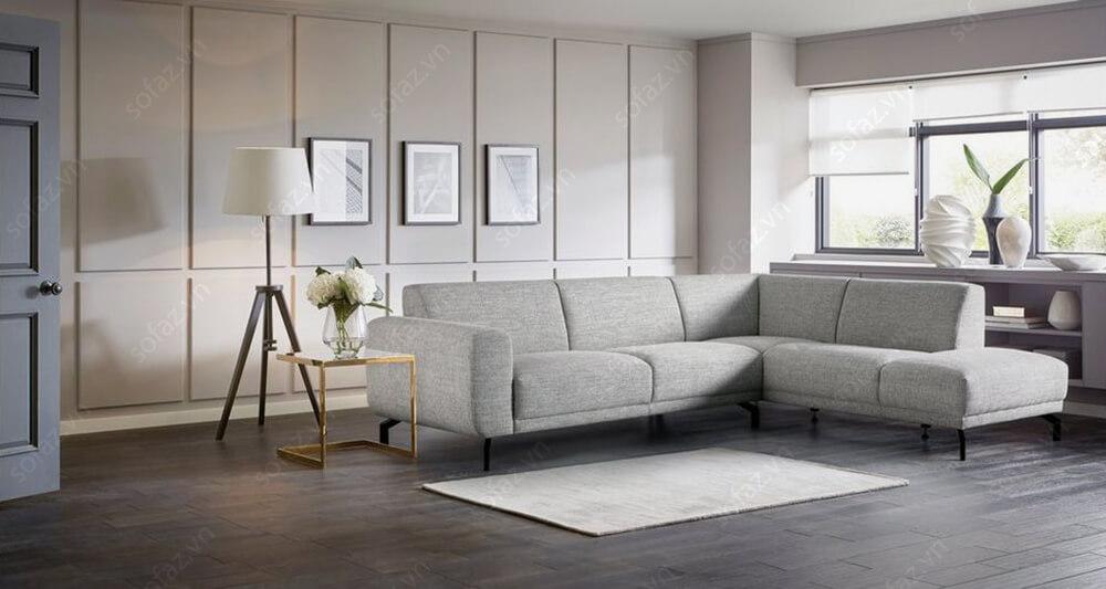 sofa goc phong khach hien dai sang trong 1  - [Nguồn] Những mẫu sofa góc được ưu chuộng nhiều nhất trên thị trường nội thất Việt