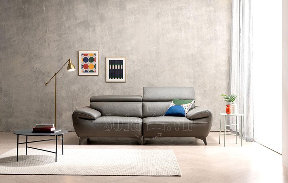 sofa vang phong khach boc da hien dai 3 2 - Chọn chất liệu nào tốt nhất cho ghế sofa hiện đại
