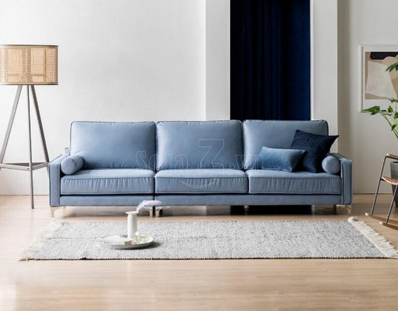 sofa vang phong khach boc vai hien dai 1 - Sofa phòng khách GD475 - Sofa văng Calming